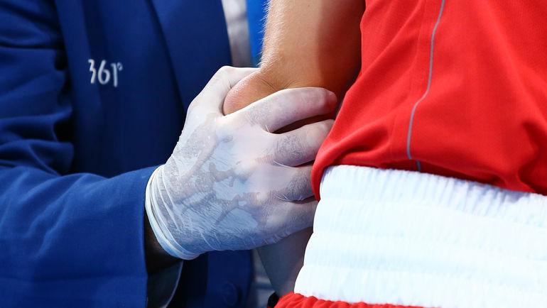 Травма Анастасии БЕЛЯКОВОЙ. Фото REUTERS