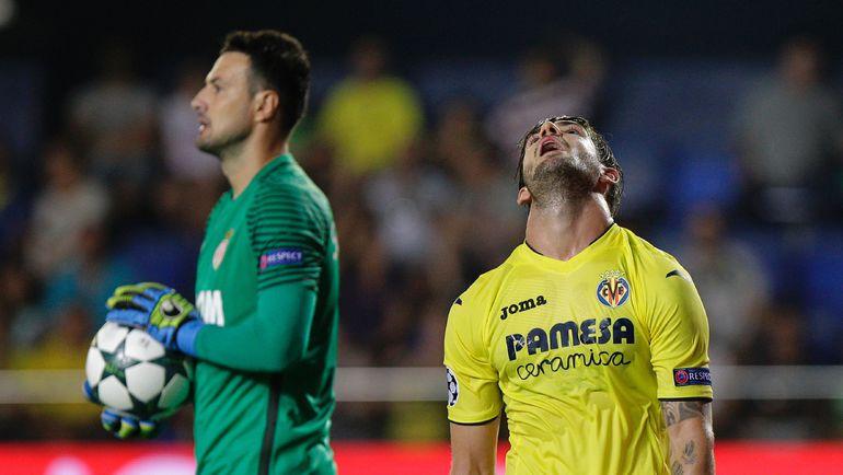 """Среда. Вильярреал. """"Вильярреал"""" - """"Монако"""" - 1:2. Алешандре ПАТУ наконец-то забил в Европе, но его команда проиграла. Фото AFP"""