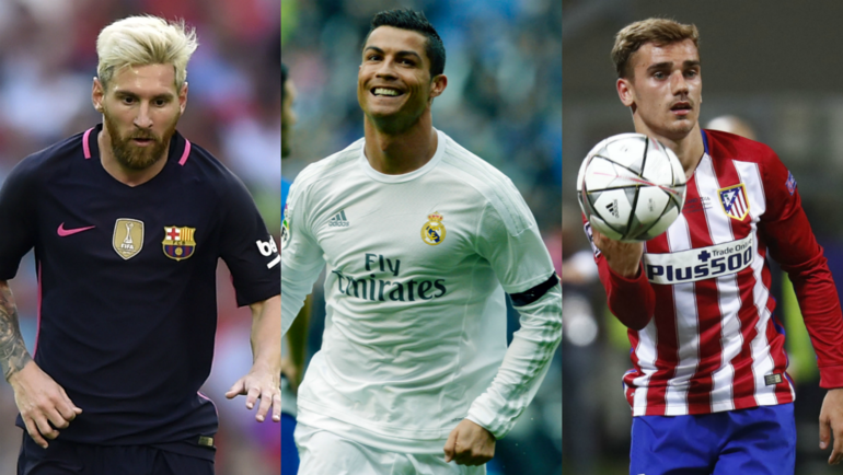 """""""Барселона"""", """"Реал"""" и """"Атлетико"""", как обычно, являются фаворитами чемпионата Испании. Фото """"СЭ"""""""