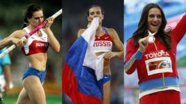 Елена Исинбаева. Лучшие кадры