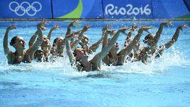 Четверг. Рио-де-Жанейро. Сборная России по синхронному плаванию.