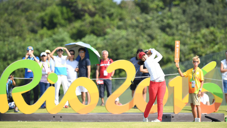 Сегодня. Рио-де-Жанейро. Первый турнир по гольфу на Играх. Фото REUTERS