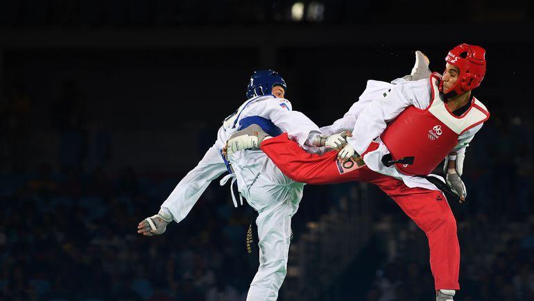Сегодня. Рио-де-Жанейро. Алексей ДЕНИСЕНКО и Ахмад АБУГАШ. Фото REUTERS