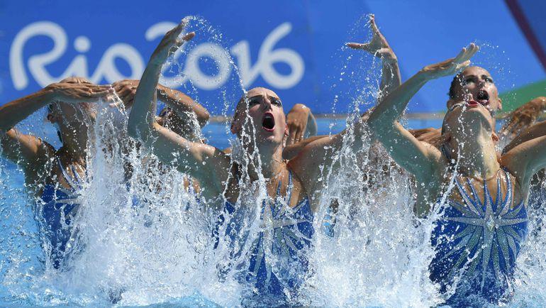 Сегодня. Рио-де-Жанейро. Золотое выступление россиянок. Фото AFP