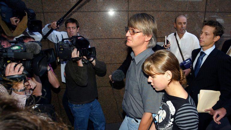 Михаил ЗУБКОВ и его дочь Катерина. Фото REUTERS