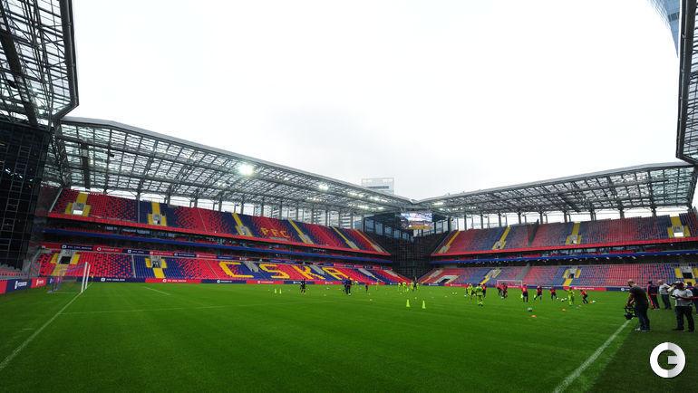 Сегодня. Москва. Стадион ЦСКА.