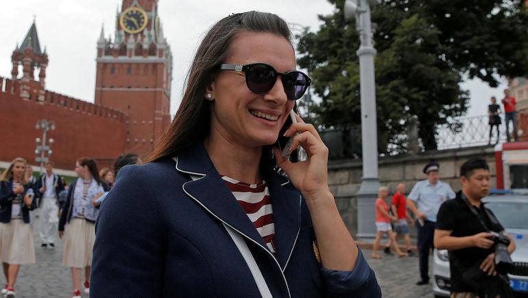 Елене ИСИНБАЕВОЙ теперь нужно побеждать за пределами знакомого прыжкового сектора. Фото Reuters