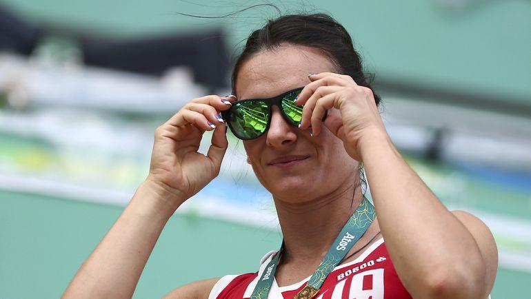 Елена ИСИНБАЕВА в Рио-де-Жанейро. Фото Reuters