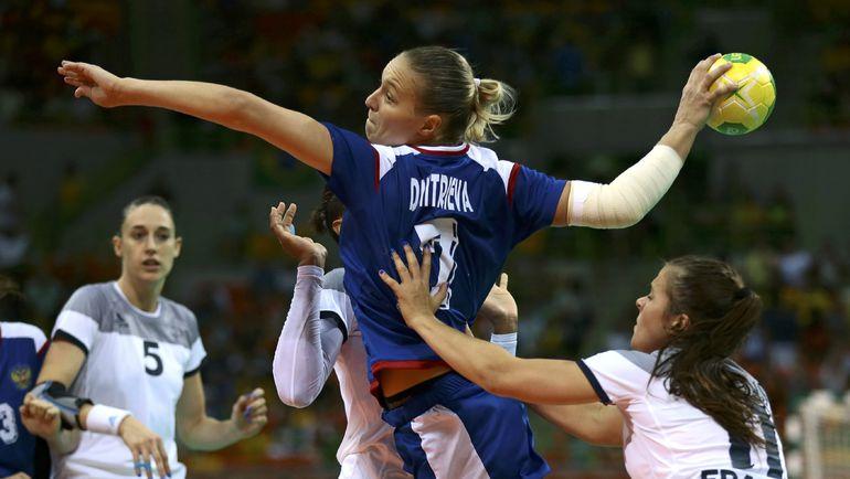 Женская сборная России выиграла золото Олимпиады-2016. Фото Reuters