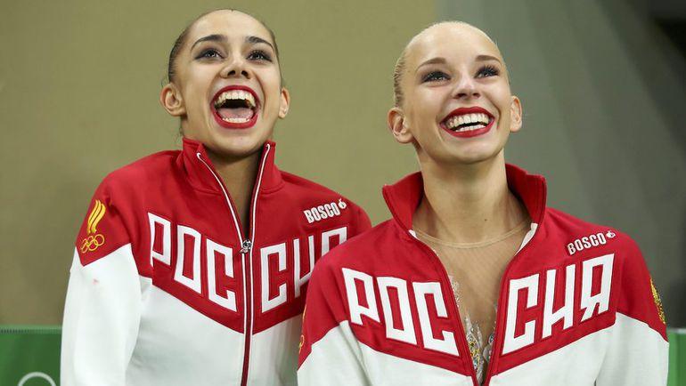 Маргарита МАМУН (слева) и Яна КУДРЯВЦЕВА. Фото REUTERS