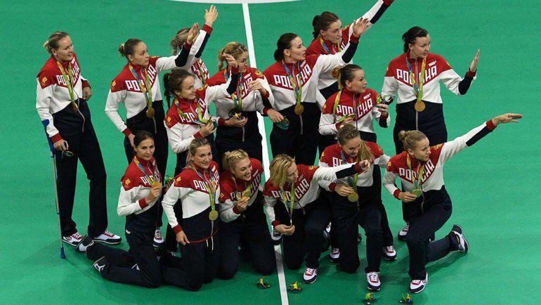 Золотые - наши! Фото AFP