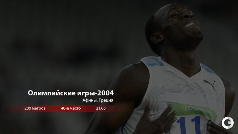 """Усэйн БОЛТ: Олимпийские игры-2004. Фото """"СЭ"""""""