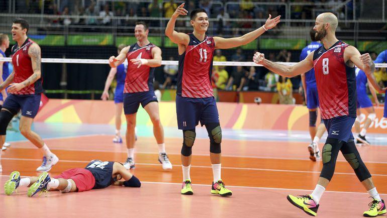 Радость американской сборной. Фото REUTERS