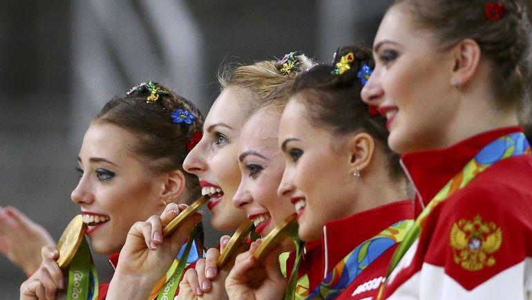 Сегодня. Рио-де-Жанейро. Сборная России: золото! Фото REUTERS