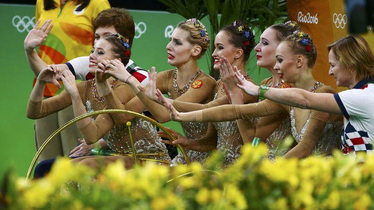 Россия: есть золото! Фото REUTERS