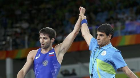 Российский борец Сослан Рамонов стал олимпийским чемпионом Рио
