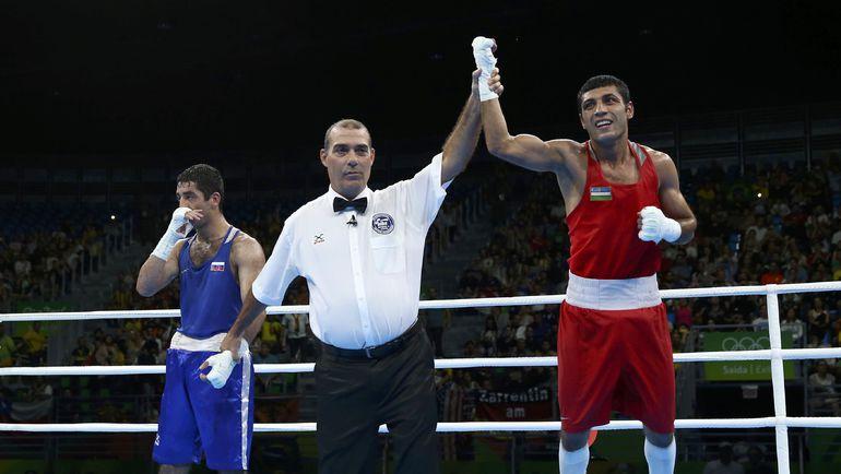 Миша АЛОЯН (слева) и Шахобидин ЗОИРОВ. Фото REUTERS