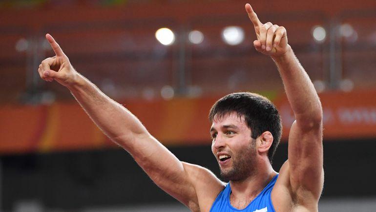 Сегодня. Рио-де-Жанейро. Олимпийский чемпион Сослан РАМОНОВ. Фото AFP