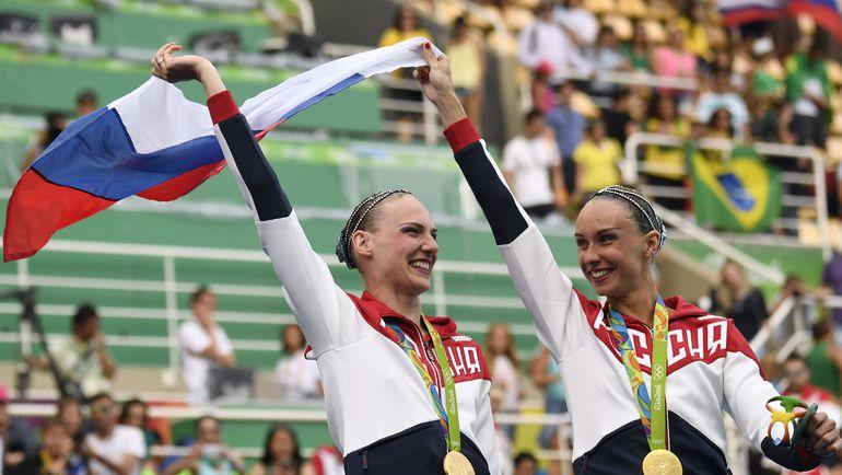 Наталья ИЩЕНКО и Светлана РОМАШИНА. Фото AFP