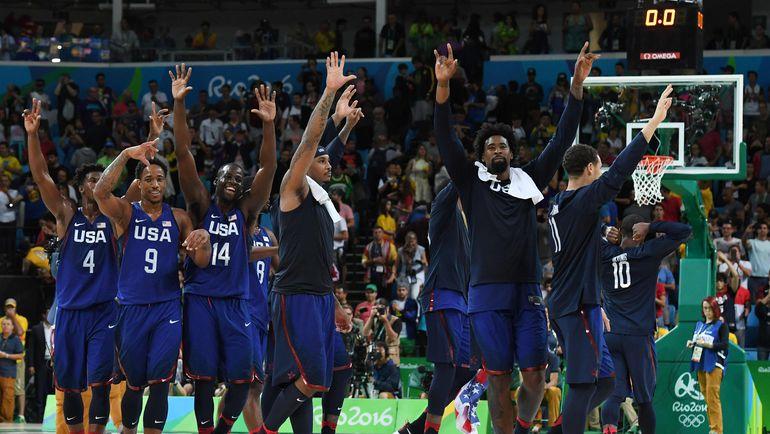 Воскресенье. Рио-де-Жанейро. Сербия – США – 66:96. Американцы выиграли последнее золото Олимпиады-2016. Фото AFP