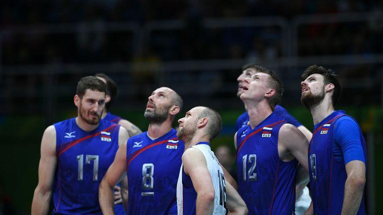Российские волейболисты на этот раз остались без медалей. Фото AFP