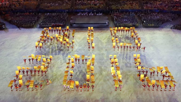 Церемония закрытия Олимпиады. Фото REUTERS