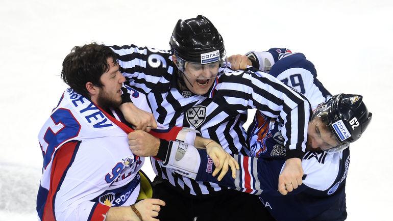 Каким будет девятый сезон КХЛ? Фото Владимир БЕЗЗУБОВ, photo.khl.ru