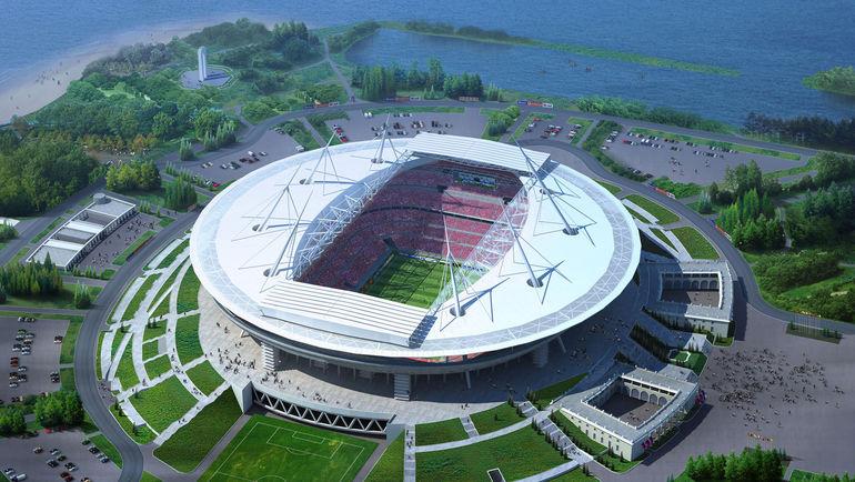 """Так будет выглядеть стадион на Крестовском острове. Фото """"СЭ"""""""