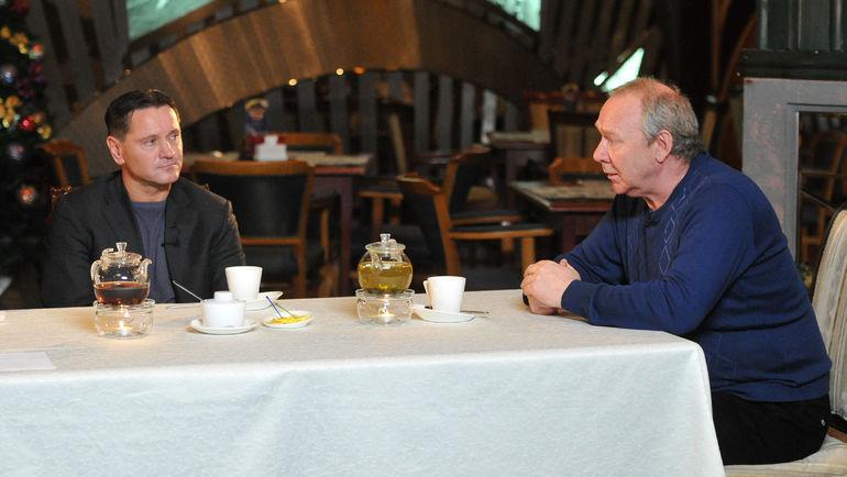 Дмитрий АЛЕНИЧЕВ и Олег РОМАНЦЕВ. Фото Татьяна ДОРОГУТИНА