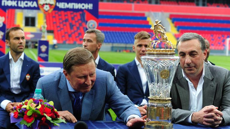 """Евгений ГИНЕР (справа) и Сергей ИВАНОВ. Фото Александр ФЕДОРОВ, """"СЭ"""""""