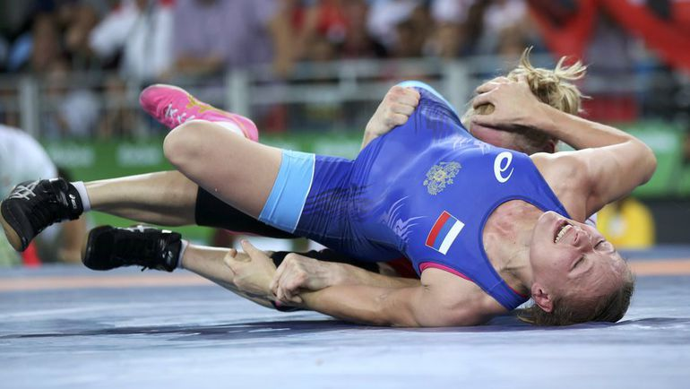 Инна ТРАЖУКОВА проиграла в бронзовой схватке Олимпиады в Рио. Фото REUTERS