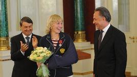 Сегодня. Кремль. Виталий МУТКО (справа) и Анастасия БЕЛЯКОВА.