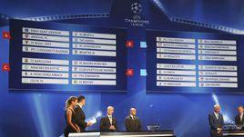 Сегодня. Монте-Карло. Результаты жеребьевки Лиги чемпионов.