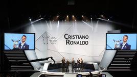 Сегодня. Монте-Карло. КРИШТИАНУ РОНАЛДУ признан лучшим игроком Европы прошедшего сезона.