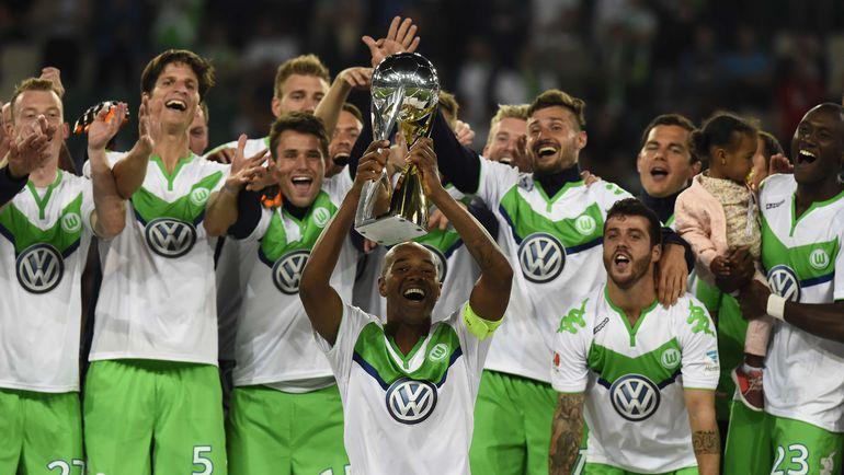 """""""Вольфсбург"""" празднует победу в Суперкубке. Фото REUTERS"""