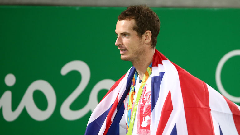 Олимпийский чемпион Энди МАРРЭЙ. Фото REUTERS