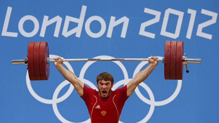 3 августа 2012 года. Лондон. Апти АУХАДОВ завоевывает олимпийское серебро, которого впоследствии будет лишен. Фото REUTERS