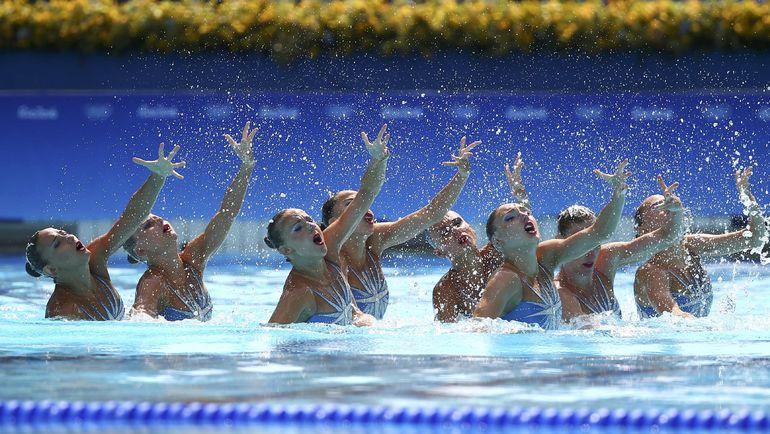 Выступление российской команды в олимпийском Рио. Фото REUTERS