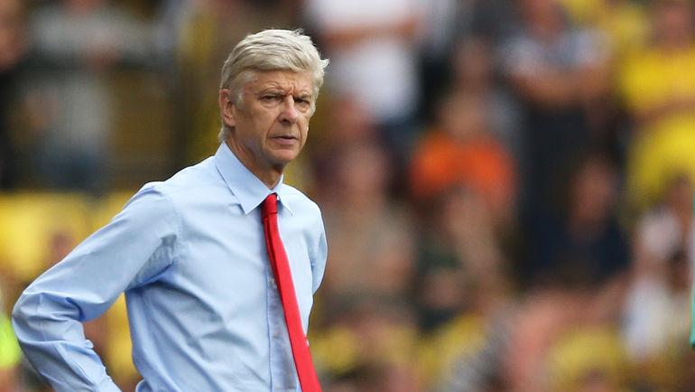 """Суббота. Уотфорд. """"Уотфорд"""" - """"Арсенал"""" - 1:3. Арсен ВЕНГЕР. Фото REUTERS"""