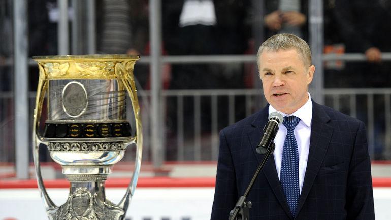 Александр МЕДВЕДЕВ. Фото photo.khl.ru