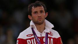 11 августа 2012 года. Лондон. Бесик КУДУХОВ после финала Игр-2012.