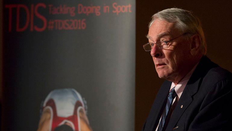 Бывший президент и основатель ВАДА Ричард ПАУНД - автор первого доклада по допингу в России. Фото AFP