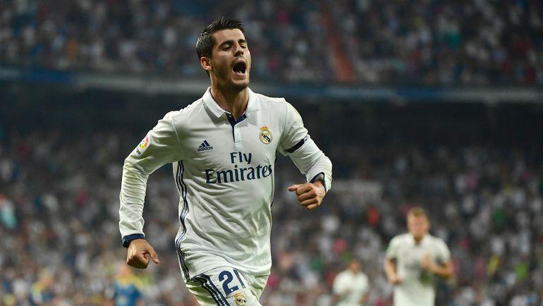 """Альваро МОРАТА - единственный новичок """"Реала"""" летом-2016. Фото AFP"""