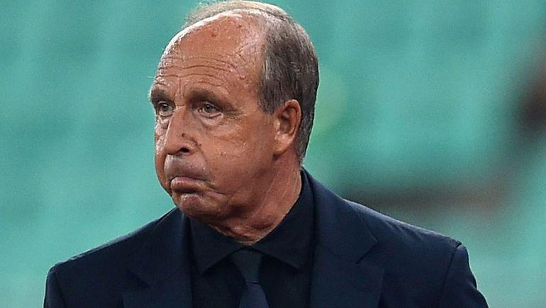 Главный тренер итальянцев Джампьеро ВЕНТУРА вряд ли остался доволен увиденным. Фото AFP