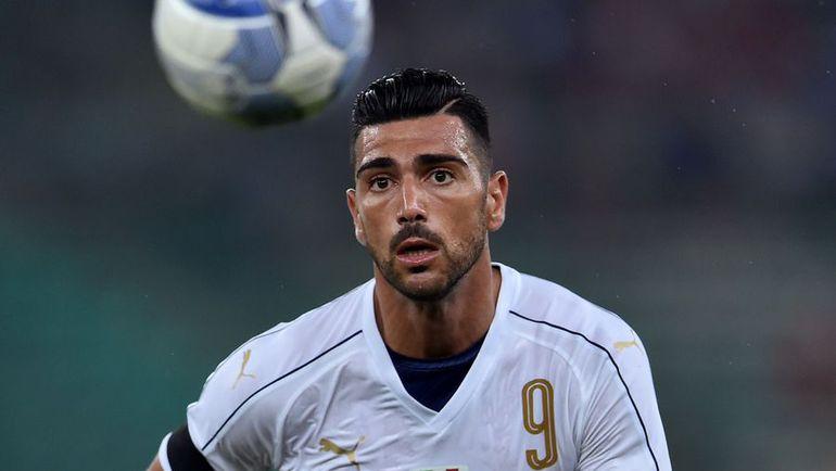 Выступающий в Китае Грациано ПЕЛЛЕ забил единственный гол в составе хозяев. Фото AFP