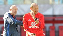 Станислав ЧЕРЧЕСОВ (слева) и Мирослав РОМАЩЕНКО.