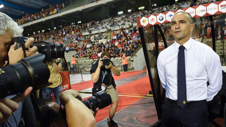 Испанский наставник сборной Бельгии Роберто МАРТИНЕС. Фото AFP