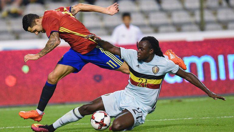 Испанец ВИТОЛО против Джордана ЛУКАКУ. Фото AFP