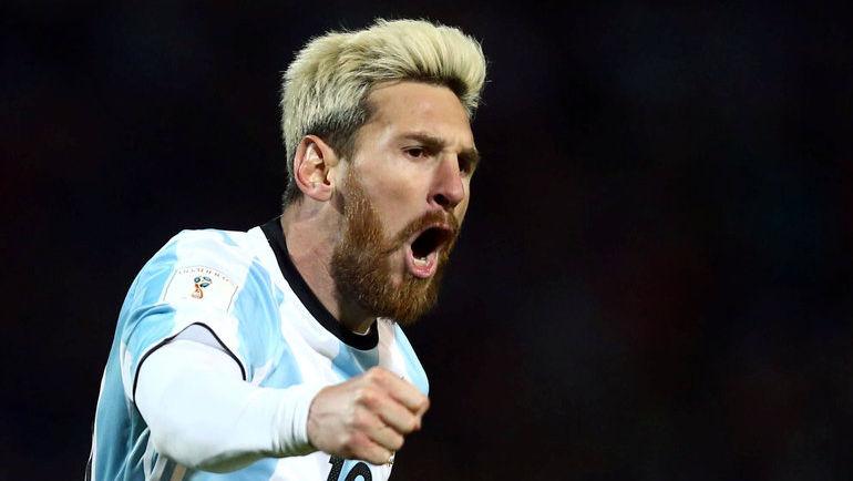 Четверг. Мендоса. Аргентина – Уругвай – 1:0. 43-я минута. Вернувшийся в сборную Лионель МЕССИ принес победу аргентинцам. Фото Reuters