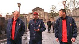 1997 год. Александр ФИЛИМОНОВ, Станислав ЧЕРЧЕСОВ и Сергей ОВЧИННИКОВ.